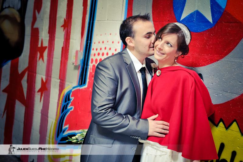 en tant que photographe de mariage il est parfois difficile de prendre ses photos avec une mto glaciale ce fut le cas pour le mariage de delphine et - Photographe Mariage Beauvais